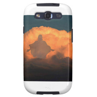 Cool Image of Jesus on Clouds Samsung Galaxy SIII Case