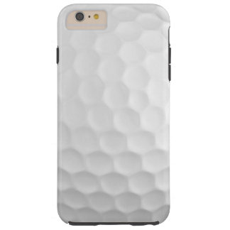Cool Image Of White Golf Ball Dimples Pattern Tough iPhone 6 Plus Case