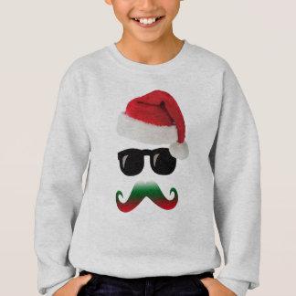 cool invisible santa christmas winter hoodie