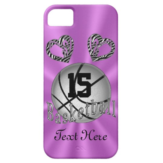 Cool iPhone 5S Basketball Cases for Women & Girls