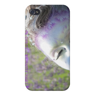 Cool iPhone Case Lovely Little Lavender Fairies iPhone 4 Case