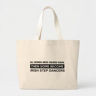 Cool Irish Step Dancing designs Tote Bags