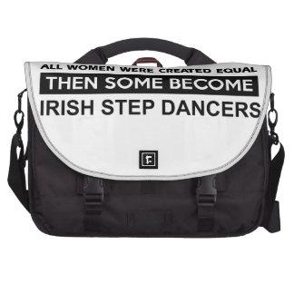 Cool Irish Step Dancing designs Laptop Bag