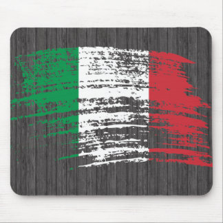 Cool Italian flag design Mouse Mat