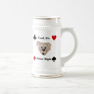 Cool, It's Poker Night Beer Steins