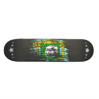 Cool Ivorian flag design Skate Board Deck