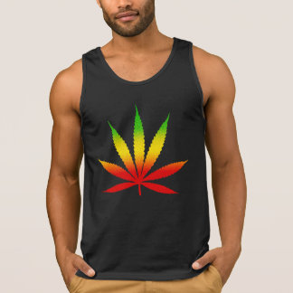Cool Jamaican Colors Reggae Rasta Leaf Jamaica