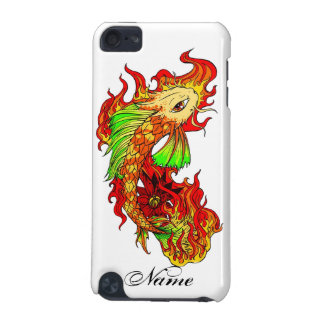Cool Japanese Cute Koi Carp Fish Flame tattoo iPod Touch 5G Covers