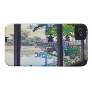 Cool japanese garden lake mountain scenery Case-Mate iPhone 4 case