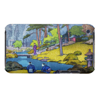 Cool japanese Iinnoji garden forest people river iPod Touch Cover