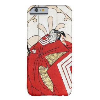 Cool japanese legendary hero samurai warrior art barely there iPhone 6 case