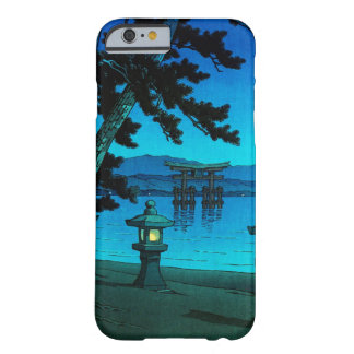 Cool japanese moonlit night gate sea hasui kawase barely there iPhone 6 case