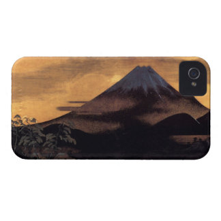 Cool japanese mountain Fuji sunshine scenery iPhone 4 Covers