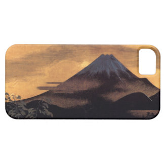 Cool japanese mountain Fuji sunshine scenery iPhone 5 Cover
