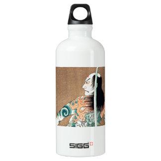 Cool Japanese Natsumatsuri Danshichi tattoo SIGG Traveller 0.6L Water Bottle