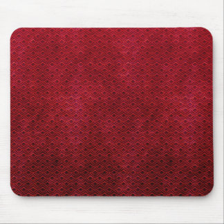 Cool japanese oriental cherry red fish scale mouse pad