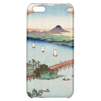 Cool japanese vintage ukiyo-e scenery waterscape iPhone 5C covers