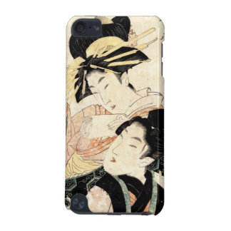 Cool japanese vintage ukiyo-e two ladies woman iPod touch (5th generation) cases