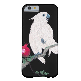 Cool japanese white cockatoo parrot tropical bird barely there iPhone 6 case