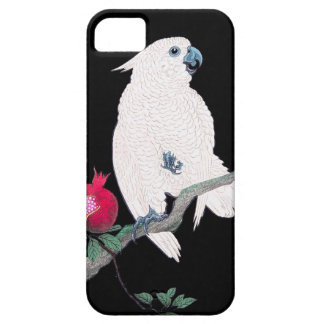 Cool japanese white cockatoo parrot tropical bird case for the iPhone 5