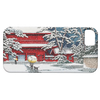 Cool japanese winter temple shrine kyoto scenery barely there iPhone 5 case