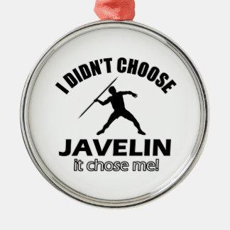 Cool Javelin designs Christmas Ornament