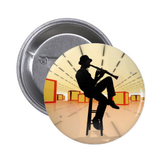 Cool Jazz 3 6 Cm Round Badge
