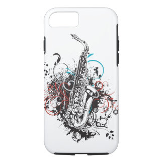 Cool Jazz Music Saxophone Theme iPhone 7 Case