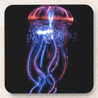 Cool Jellyfish Luminous Light Phenomeno Coaster