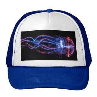 Cool Jellyfish Luminous Light Phenomeno Mesh Hats