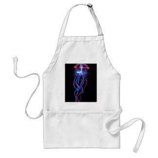 Cool Jellyfish Luminous Light Phenomeno Standard Apron