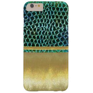 Cool Jewel Pattern Metallic Gold iPhone 6ld Case