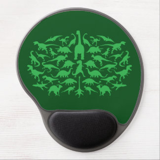 Cool jurassic prehistoric dinosaur pattern… gel mouse pad