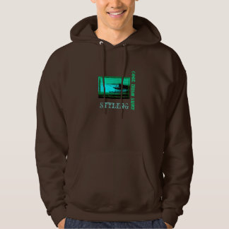 Cool Just Irish Surfer Hoodie