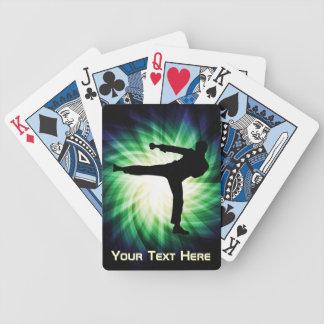 Cool Karate Kick Bicycle Playing Cards
