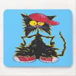 Cool Kat Hip Hop Mousepad