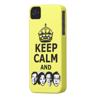 Cool keep calm and carry on iPhone 4 covers