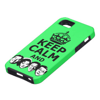 Cool keep calm and carry on iPhone 5 cases