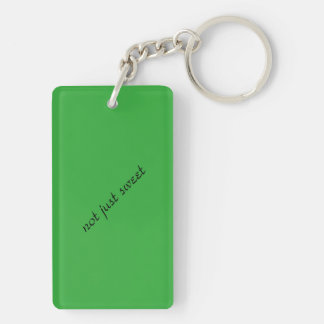 Cool keychain for a 16 year old girl (green)