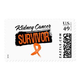 Cool Kidney Cancer Survivor Postage