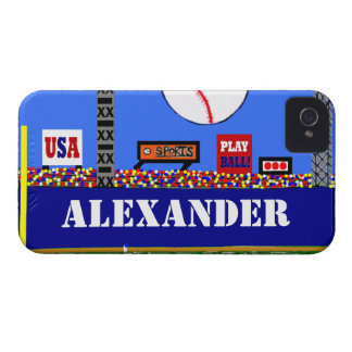 Cool Kids Baseball Personalized iPhone Case Gift iPhone 4 Cases