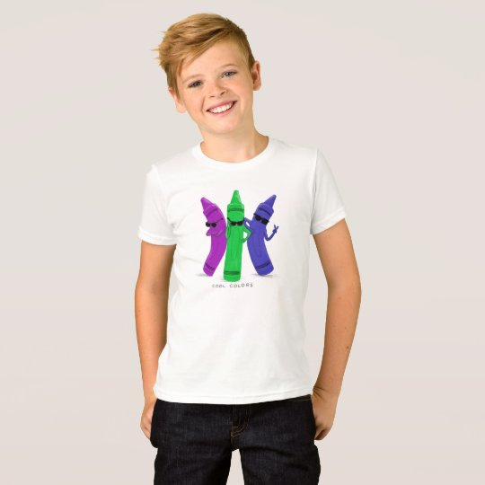 Cool Kids Crayon Shirt