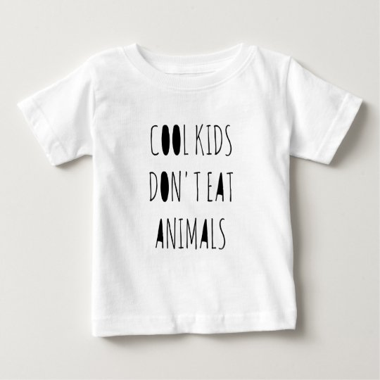 Cool Kids Don't Eat Animals Shirt