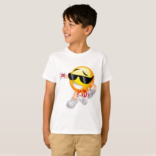 Cool Kids Emoji T-Shirt