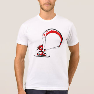 Cool kitesurf cartoon dude. T-Shirt