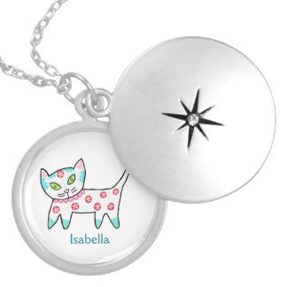 Cool Kitty Kids Locket Necklace