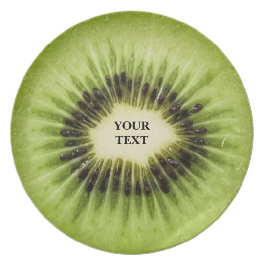 Cool Kiwi Fruit Party Plate