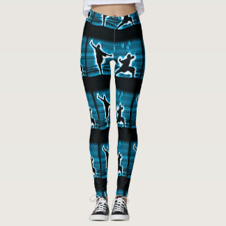 Cool Kung Fu Master Spirit Leggings