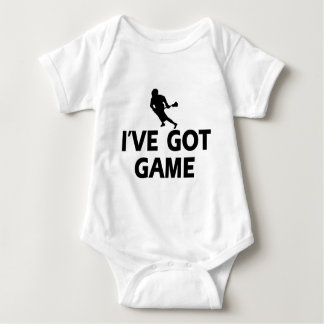 cool lacrosse designs baby bodysuit