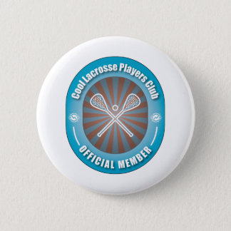 Cool Lacrosse Players Club 6 Cm Round Badge